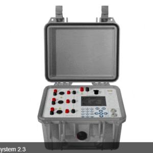 Sistema de calibração trifásico classe 0,2 CheckSystem 2.3