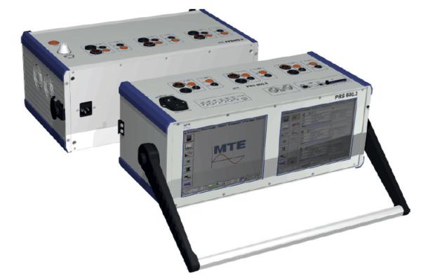 sistema de teste modular PTS 400.3 PLUS