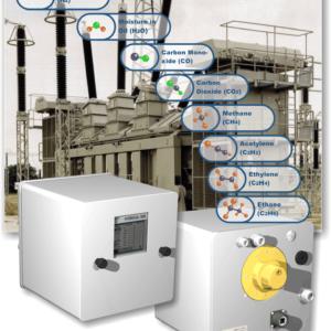Analisador de gases em transformador modelo Hydrocal 1008