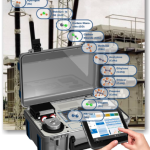 Analisador de gases em transformador modelo Hydrocal 1011 genX P