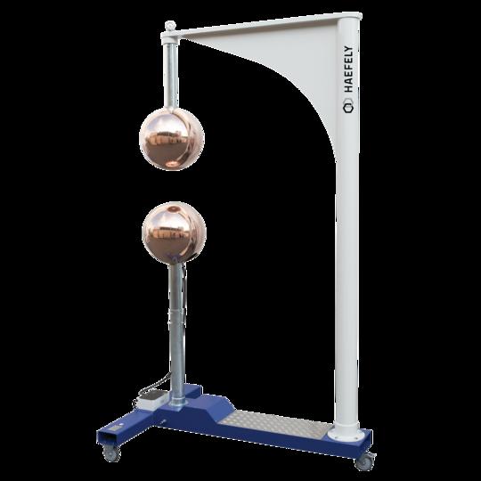 Esfera para calibração de tensão de impulso CA ou CC