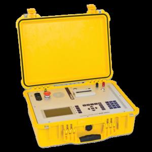 Analisador de umidade no transformador isolado a óleo pelo método da tensão de retorno RVM 5462