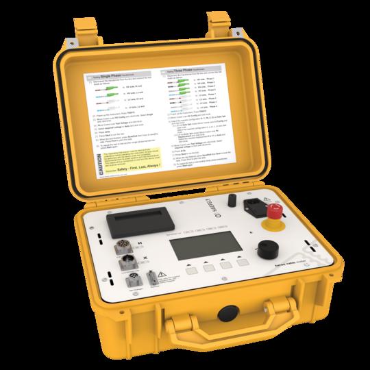 Medidor de relação de transformadores TTR 2796