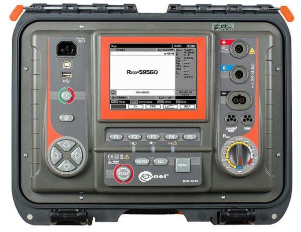 Medidor de resistência de isolamento MIC-5050