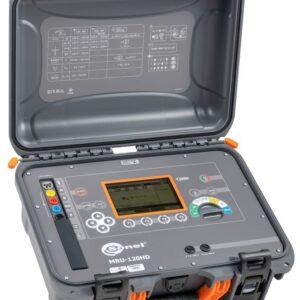Terrômetro e Medidor de resistência para serviço pesado MRU-120HD