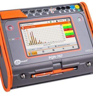 Analisador de qualidade de energia PQM-707