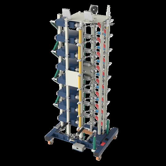 Gerador de impulso 100 a 1200 kV SGSA