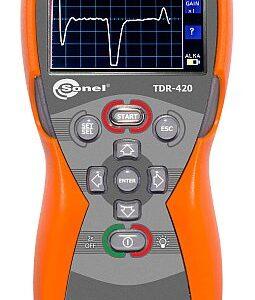Analisador de falha em cabos TDR-420