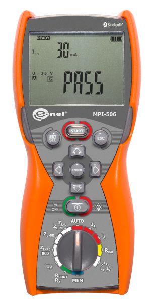 Medidor de instalações elétricas multifuncional MPI-506