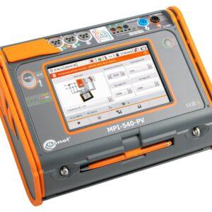 Medidor de instalações elétricas multifuncional MPI-540-PV